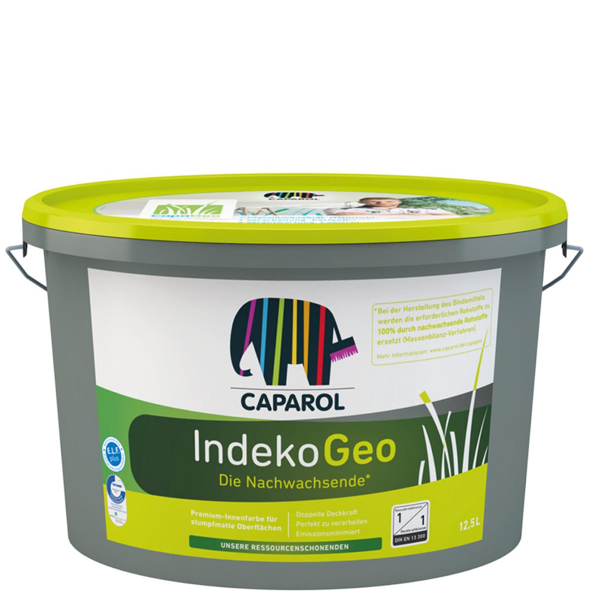 Caparol Indeko Geo 12,5L weiß, Ressourcenschonende Premium Innenfarbe