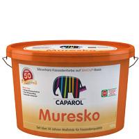 Caparol Muresko SilaCryl 12,5L weiss ,Siliconharz-Fassadenfarbe